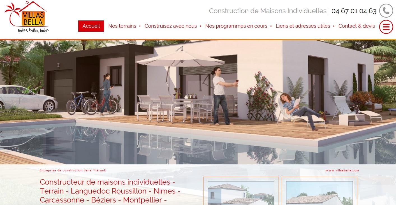 Constructeur de villas indivuduelles dans l 39 h rault for Constructeur beziers