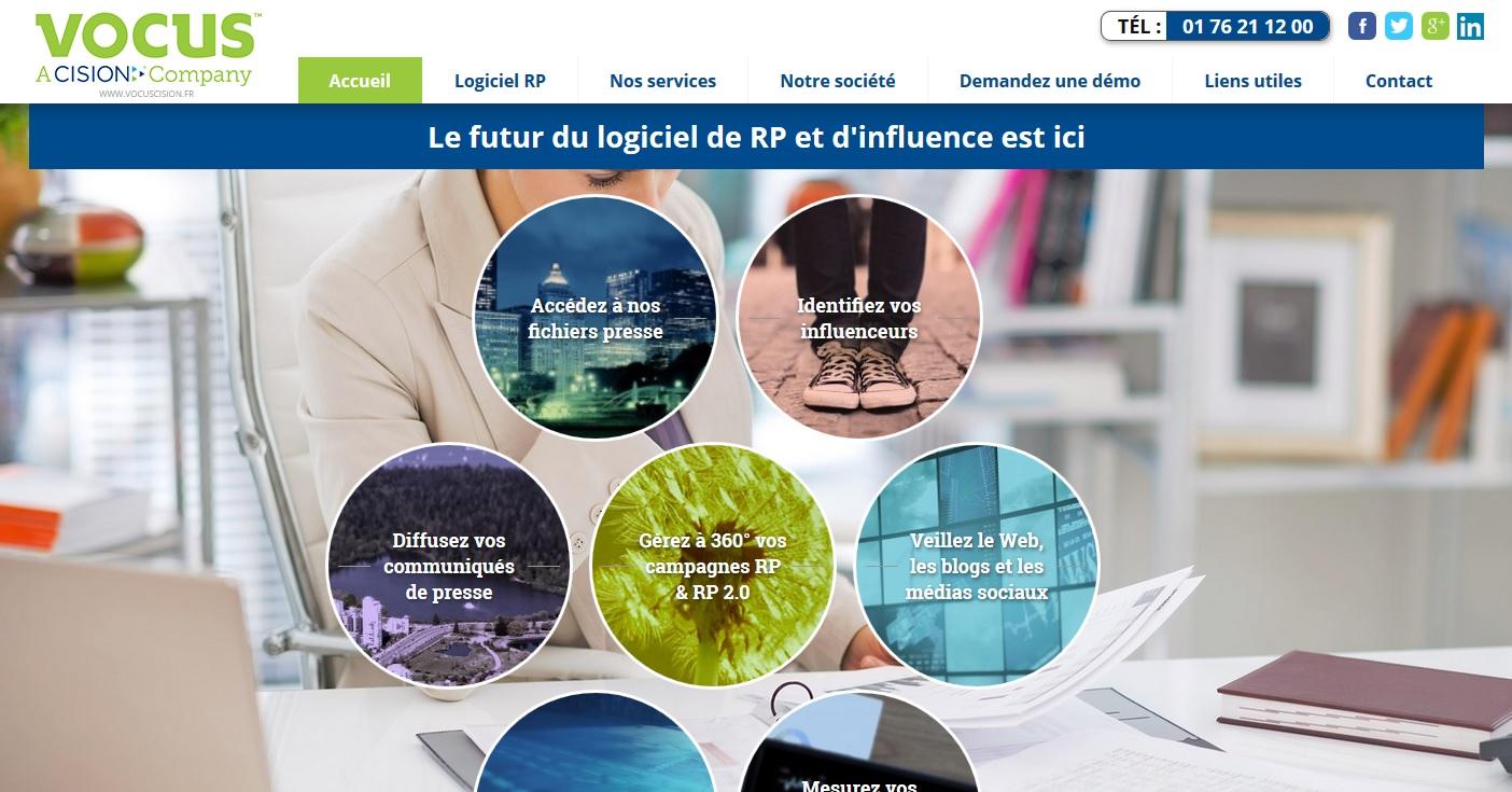 Vente de logiciel de relation presse à Paris