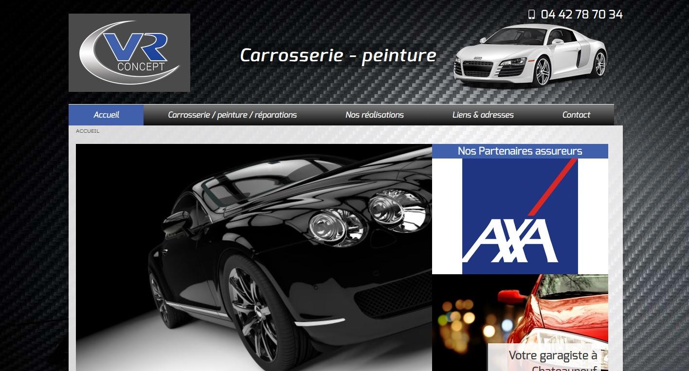 Carrossier et garage auto sur martigues vr concept for Garage rossi marseille