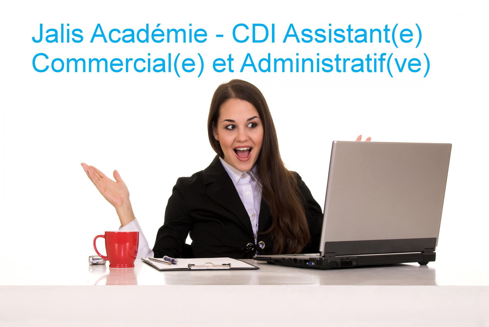 CDI : Assistant(e) Commercial(e) et Administratif(ve) au service Formation