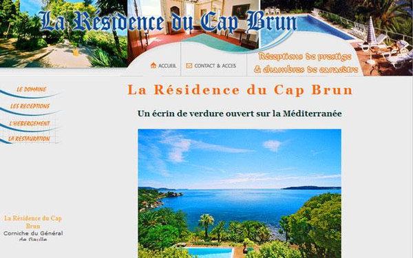 Nos r alisations de sites web pour professionnels marseille for Agence brun paysage