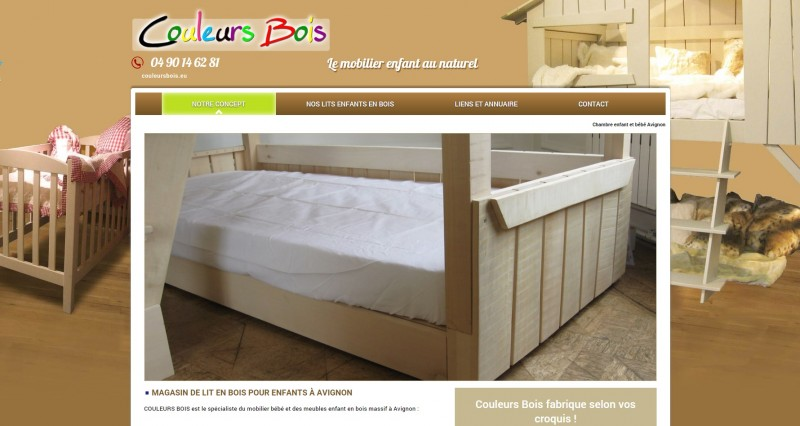 magasin de mobilier artisanal enfant et b b avignon couleurs bois jalis. Black Bedroom Furniture Sets. Home Design Ideas