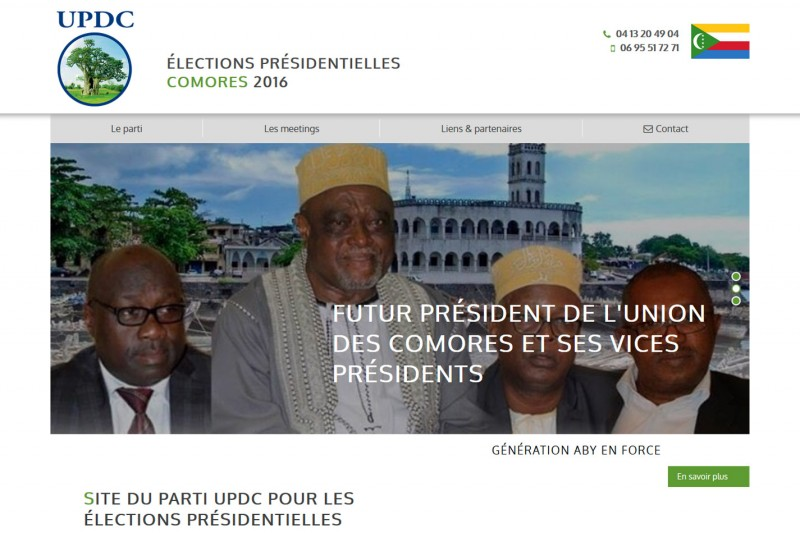 election comores updc