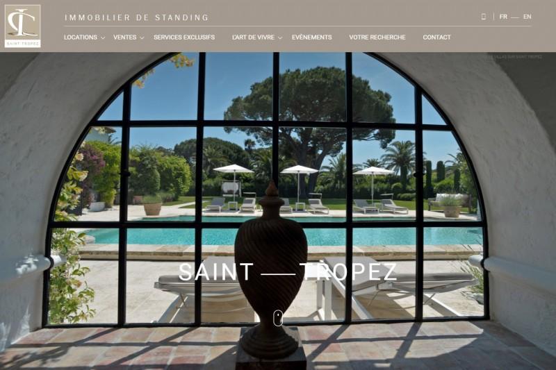 Agence immobilière de luxe Saint Tropez