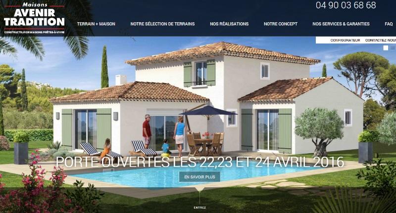 Construction maisons prêt à vivre Vaucluse