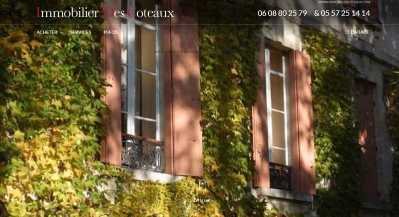 Vente de domaines viticoles en Gironde