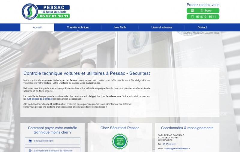 Nos r alisations de sites web pour professionnels marseille for Garage citroen pessac