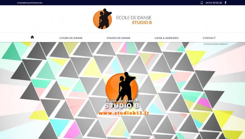 Nos r alisations de sites web pour professionnels marseille for Cours de danse de salon marseille
