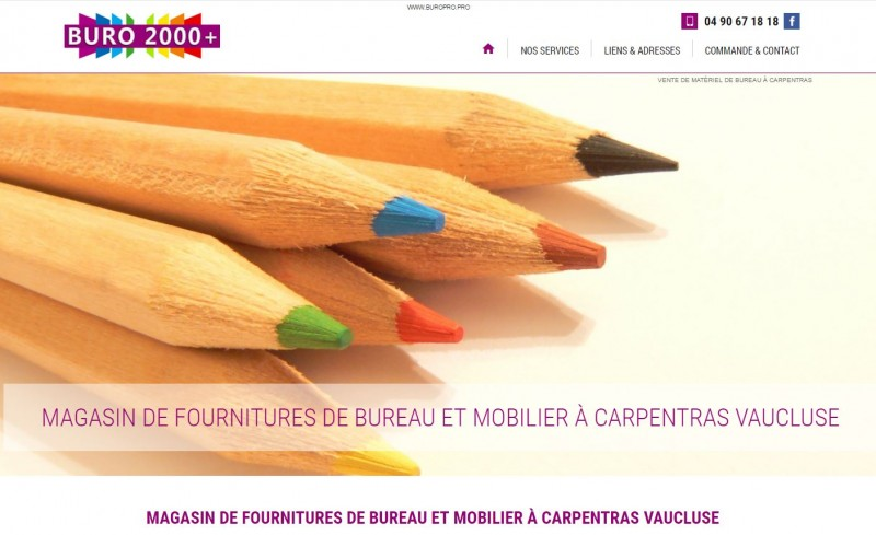 Nos clients agence web marseille jalis - Magasin bio carpentras ...