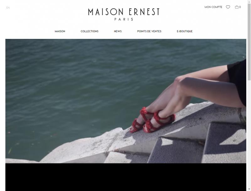 Chaussures de luxe Paris Maison Ernest