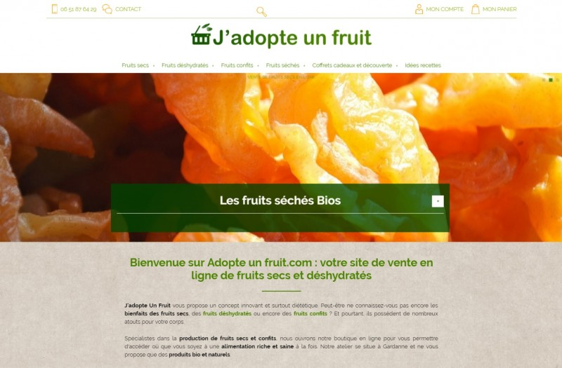 J'adopte un fruit