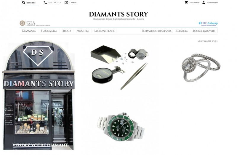 Diamants Story