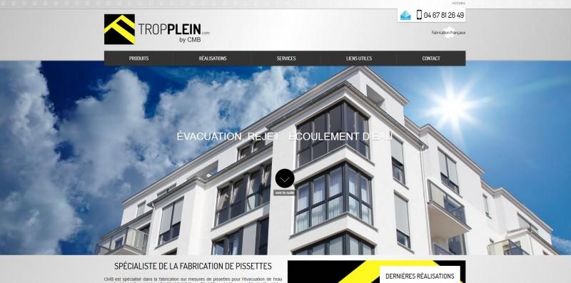 Vente de pissettes pour toits plats à Montpellier
