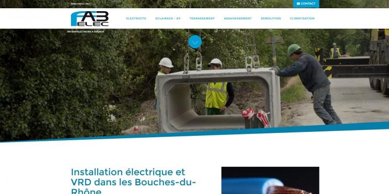 Eclairage public à Saint-Andiol