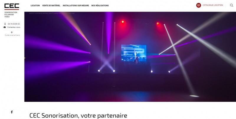 Vente et location de matériel événementiel à Lyon