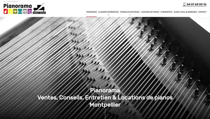 boutique de piano à Montpellier
