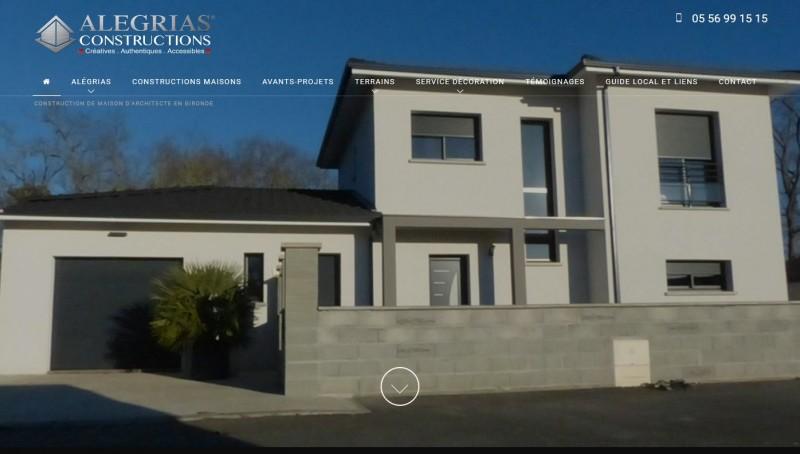 constructeur maison contemporaine Gironde
