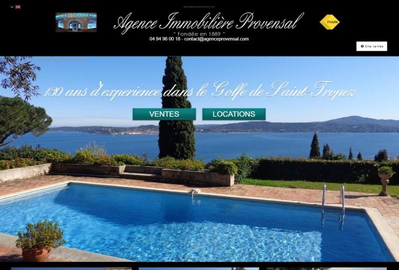 Nos r alisations de sites web pour professionnels marseille for Axa immobilier location