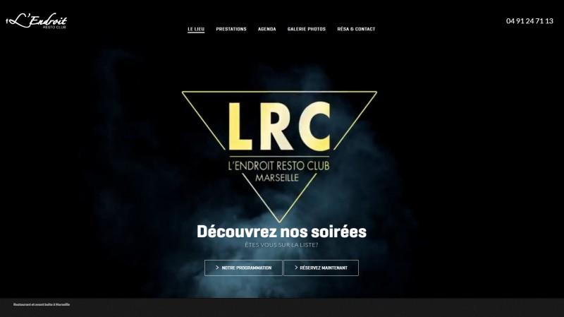 Restaurant et club à Marseille