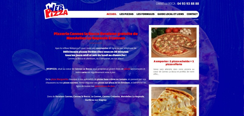 web pizza cannes