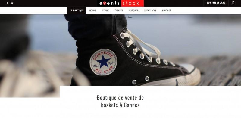 Vente baskets de marque à Cannes