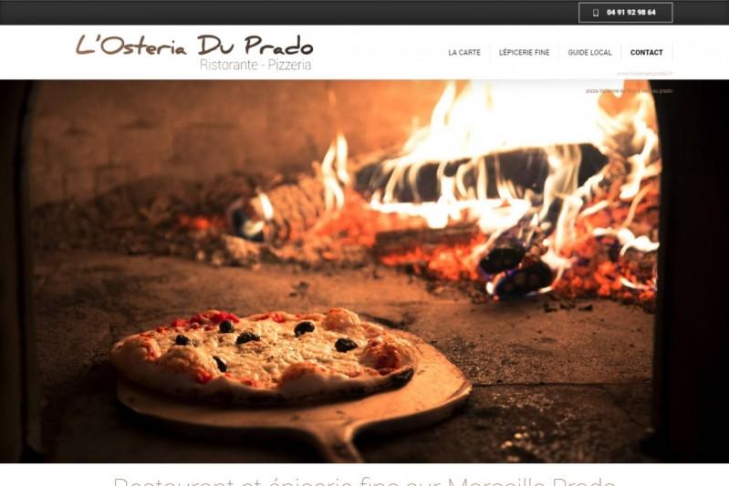 Pizzeria typique italienne au Prado