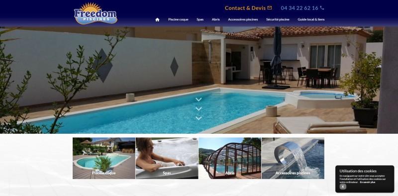 Vente piscine polyester Montpellier