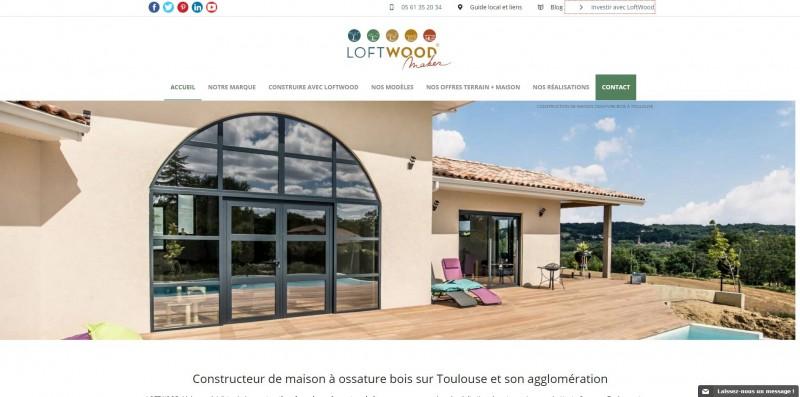 Construction bois de qualité Toulouse