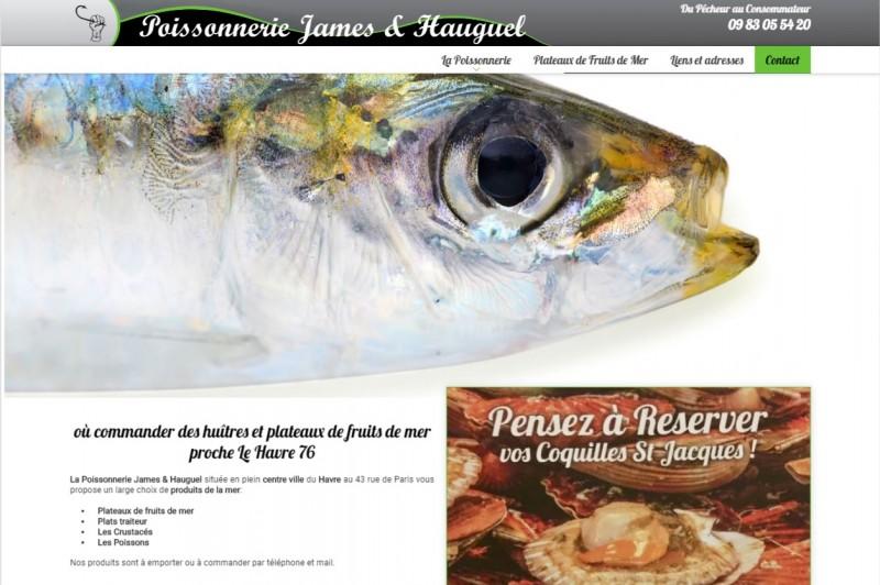 Vente de poissons frais par chers Le Havre 76600