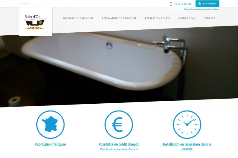 Rénovation de baignoire à Toulouse