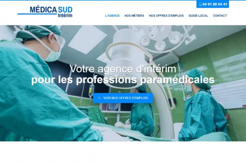Nos r alisations de sites web pour professionnels marseille for Agence interim paysagiste montpellier