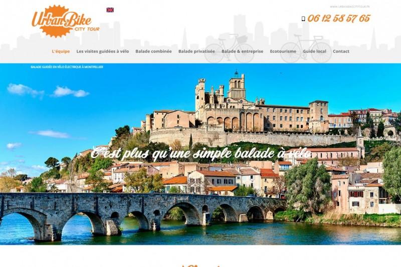 Balade en bicyclette à Montpellier