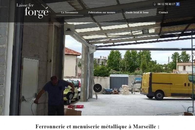 Fabricant de portail en fer forgé à Marseille