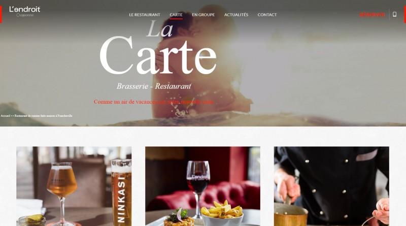 Bar à vin avec terrasse à francheville