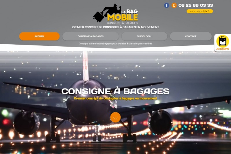 Service à bagages à Marseille port de croisières