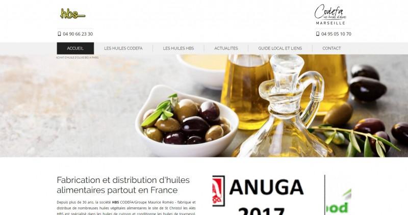 Fabricant d'huile d'olive bio sur Paris