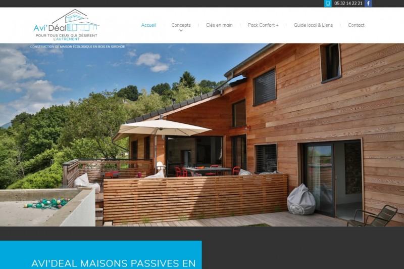 Construction de maison en bois en Gironde