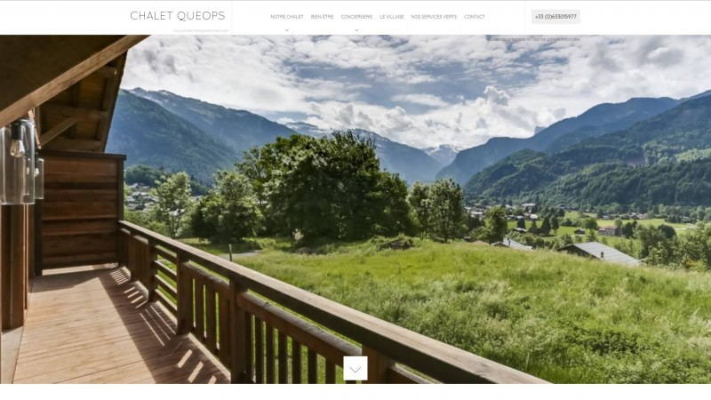 Location appartement en chalet de luxe Samoëns