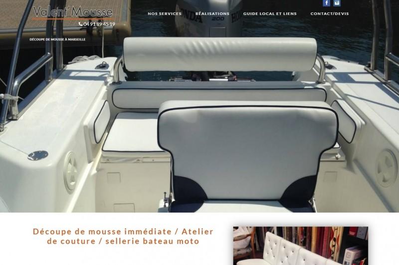tapissier d 39 ameublement et d coupe de mousse marseille valent 39 mousse agence web marseille. Black Bedroom Furniture Sets. Home Design Ideas
