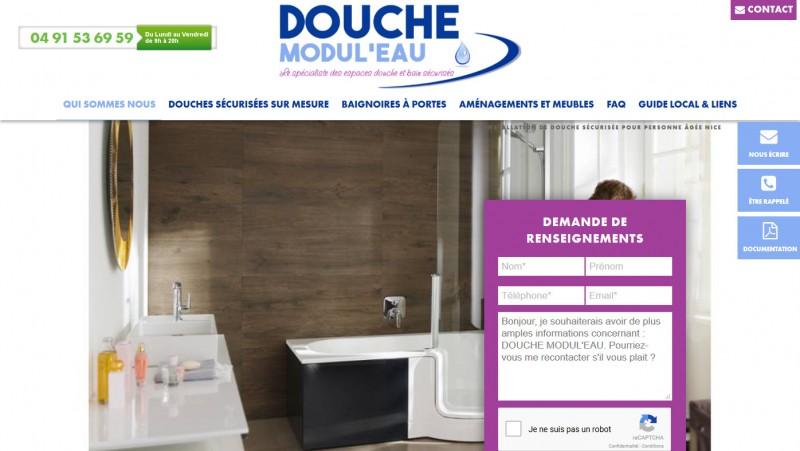 transformer une baignoire en douche Marseille