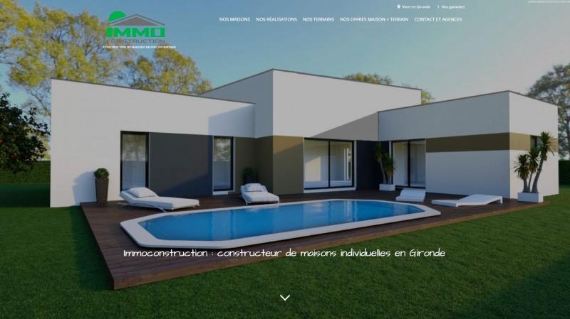 Constructeur de maison individuelle sur bordeaux immo for Immobilier sur bordeaux