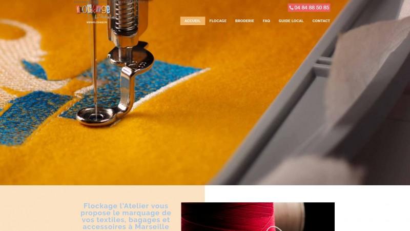 Flocage textile Marseille