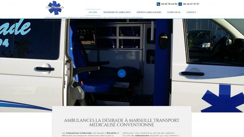société ambulances à Marseille
