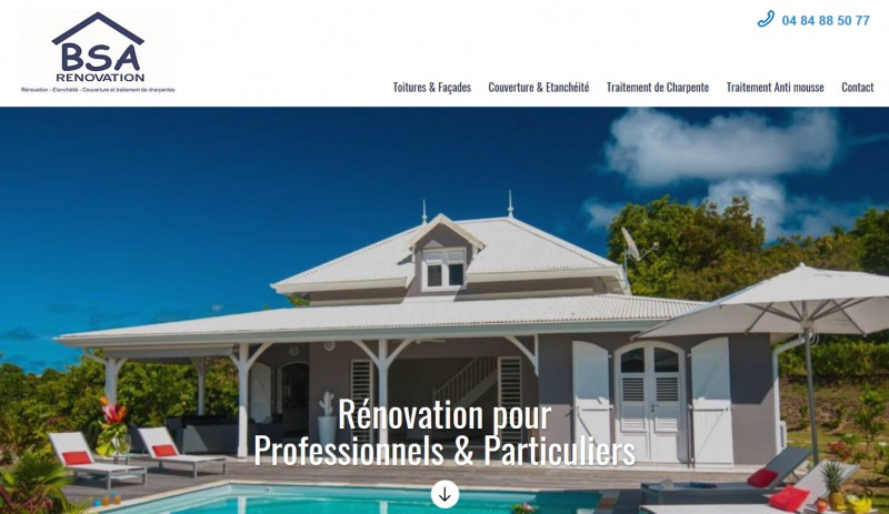 travaux d'étanchéité de façade Guadeloupe