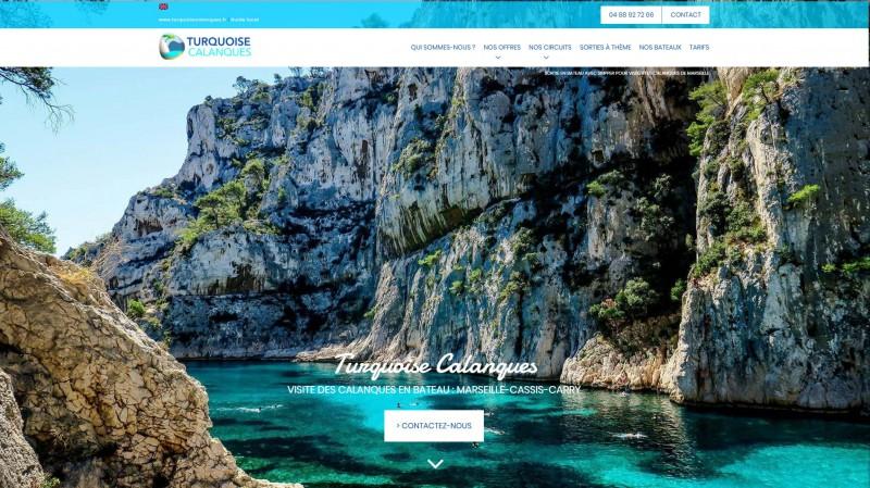 Excursion en bateau dans les calanques de Marseille
