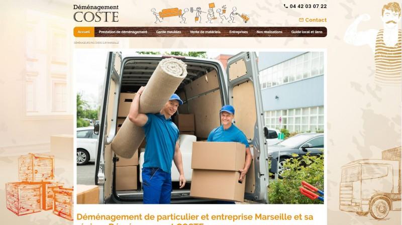 Entreprise de déménagement pas chère à Marseille