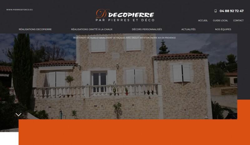 décorations murs et façades Aix en Provence