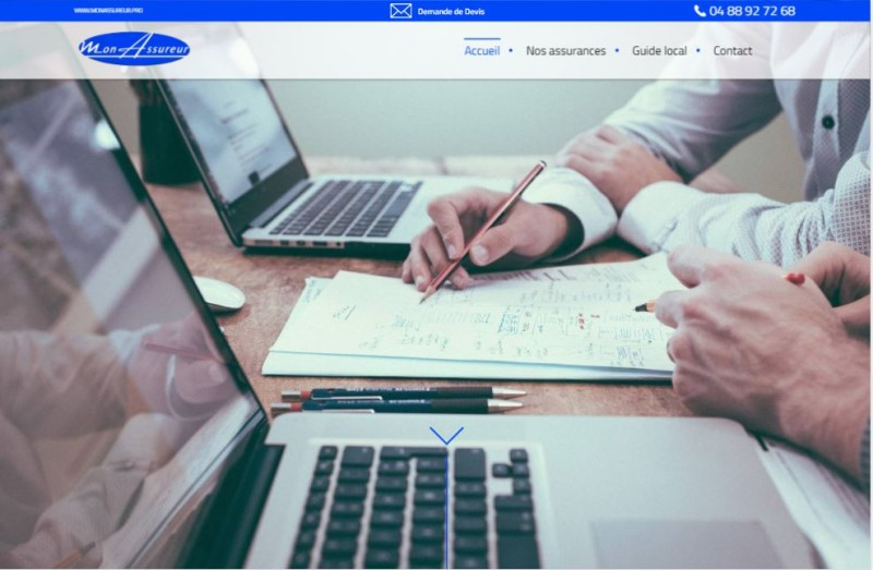 Nos r alisations de sites web pour professionnels marseille for Assureur dommage ouvrage pour particulier
