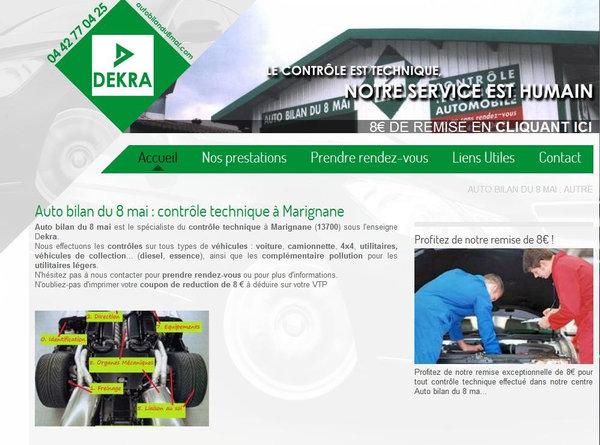 Nos clients agence web marseille jalis for Garage renault marignane