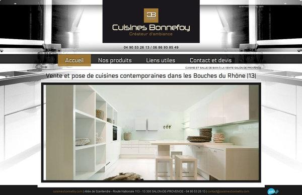 cuisines haut de gamme et design salon de provence cuisines bonnefoy agence web marseille. Black Bedroom Furniture Sets. Home Design Ideas